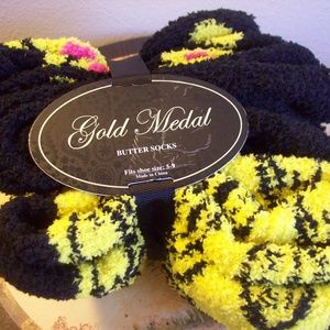 Gold Medal Happy Face Socks 3 Pair